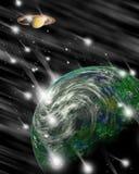 Fantasia 4 dello spazio cosmico Fotografie Stock Libere da Diritti