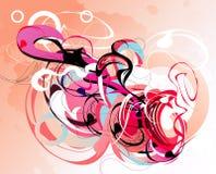 Fantasia astratta di colore Immagine Stock