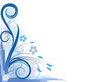 Fantasia blu Fotografie Stock
