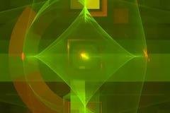 Fantasia coberta atual do molde, fractal vibrante do universo do movimento, espa?o, fundo, energia, sum?rio, projeto, ilustra??o ilustração do vetor