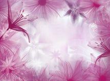 Fantasia cor-de-rosa ilustração stock