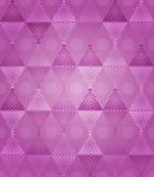 Fantasia cor-de-rosa do teste padrão dos diamantes Fotografia de Stock Royalty Free