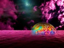 Fantasia de Atlantis Imagens de Stock