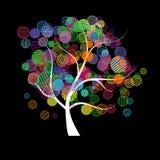 Fantasia dell'albero di arte royalty illustrazione gratis