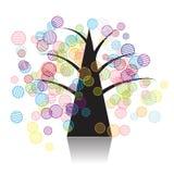 Fantasia dell'albero di arte Immagini Stock Libere da Diritti