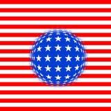 Fantasia della bandierina degli S.U.A. Fotografia Stock Libera da Diritti