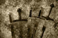 Fantasia delle spade Fotografia Stock