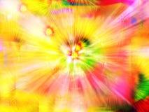 Fantasia di colore illustrazione vettoriale