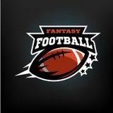 Fantasia di football americano royalty illustrazione gratis