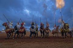 Fantasia di Morocan Fotografie Stock
