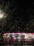 Fantasia di sogno della città della pioggia fotografie stock