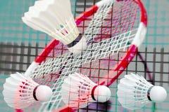 Fantasia do badminton all over fotografia de stock