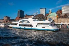 Fantasia do barco da excursão imagens de stock royalty free