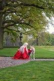 A fantasia do duende justa (Elfia) Imagens de Stock