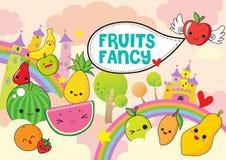 Fantasia dos frutos imagens de stock