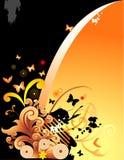 Fantasia floral do vetor ilustração royalty free