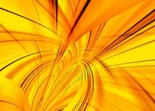 Fantasia gialla Fotografia Stock