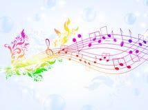 Fantasia musicale illustrazione di stock