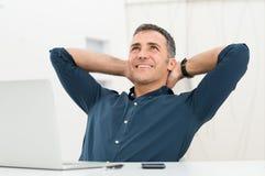 Fantasia relaxado do homem Imagem de Stock