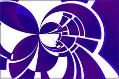 Fantasia roxa ilustração royalty free