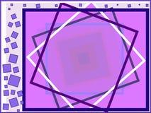 Fantasia roxa ilustração do vetor