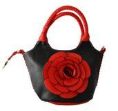 Fantasia-saco vermelho e preto Imagem de Stock Royalty Free
