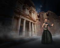 Fantasia surreale Kung Fu, karatè royalty illustrazione gratis