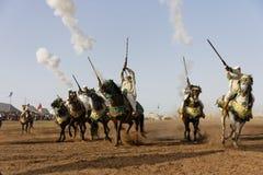 Fantasia tradicional em Marrocos Imagem de Stock Royalty Free
