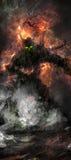 Fantasia treeman Fotografia Stock Libera da Diritti