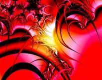 Fantasia vermelha ilustração do vetor
