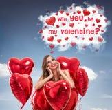 Fantasias do amor Imagens de Stock Royalty Free