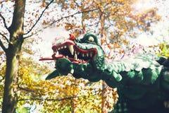 Fantasie als thema gehad park Efteling in Nederland royalty-vrije stock foto's