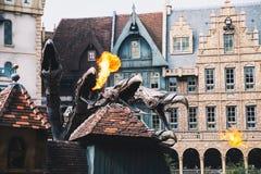 Fantasie als thema gehad park Efteling in Nederland royalty-vrije stock fotografie