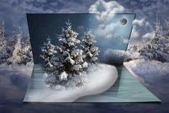 Fantasie des neuen Jahres in meinen süßen Träumen, Weihnachten Stockfotos
