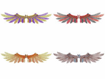 Fantasie-Flügel Stockfoto