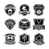 Fantasie-Fußball-Vektor-Ikonen 13 Lizenzfreie Stockfotografie