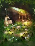 Fantasie-Höhle Stockbild