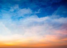 Fantasie-Himmel-Hintergrund Stockfoto