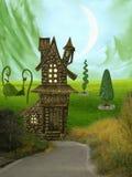Fantasie-Landschaft Lizenzfreies Stockbild