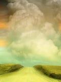 Fantasie-Landschaft Stockfotografie