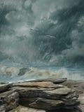 Fantasie-Landschaft Stockbilder