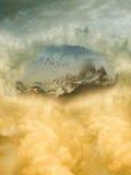 Fantasie-Landschaft Stockbild