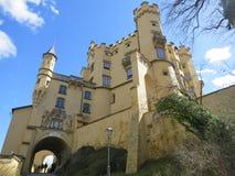 Fantasie mögen Hohenschwangau Schloss stockbild