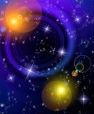 Fantasie-nächtlicher Himmel Lizenzfreies Stockfoto