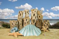 Fantasie-Ozean-Hintergrund Stockbilder