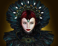 Fantasie-Portrait Lizenzfreies Stockbild