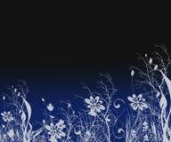 Fantasie-Schattenbild-Hintergrund stock abbildung