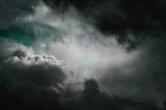 Fantasie stormachtige hemel Stock Foto's