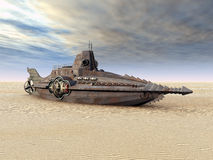 Fantasie-Unterseeboot Lizenzfreies Stockfoto