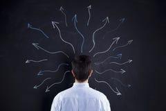 Fantasie von unserem Gehirn Lizenzfreies Stockbild